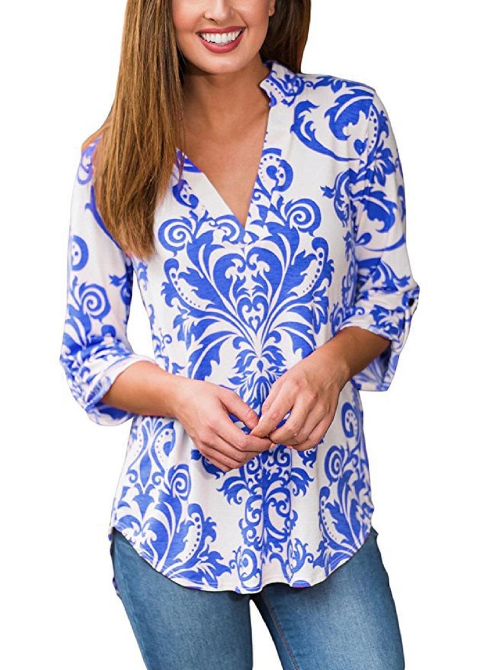 Women s Bold Paisley Shirt