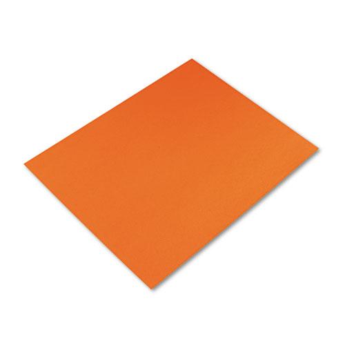 Colored Four-Ply Poster Board, 28 X 22, Orange, 25/Carton ...