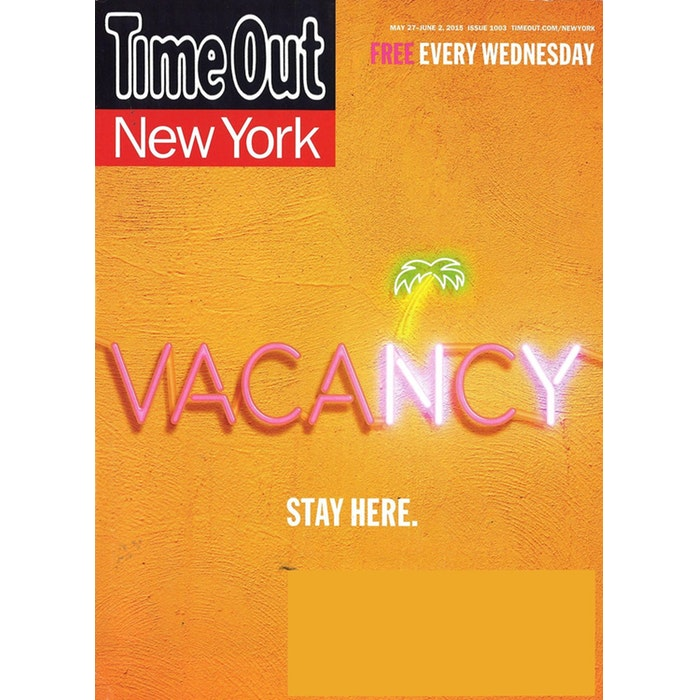 Time Out New York Magazine Subscription