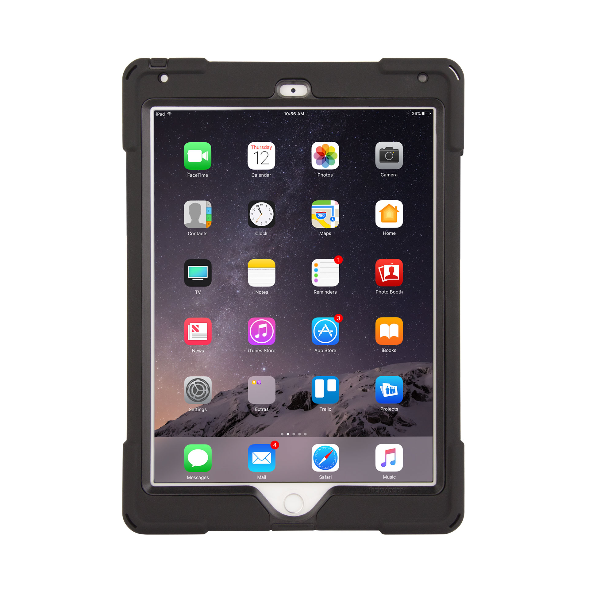 the joy factory cwa212b axtion bold case for ipad air 2
