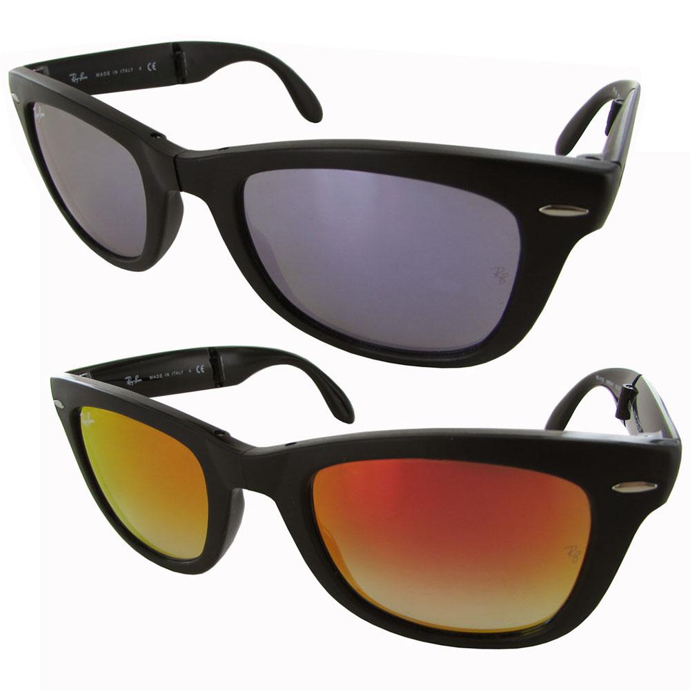 Ray Ban Men s RB4105 Wayfarer Folding Sunglasses e3c039c48093