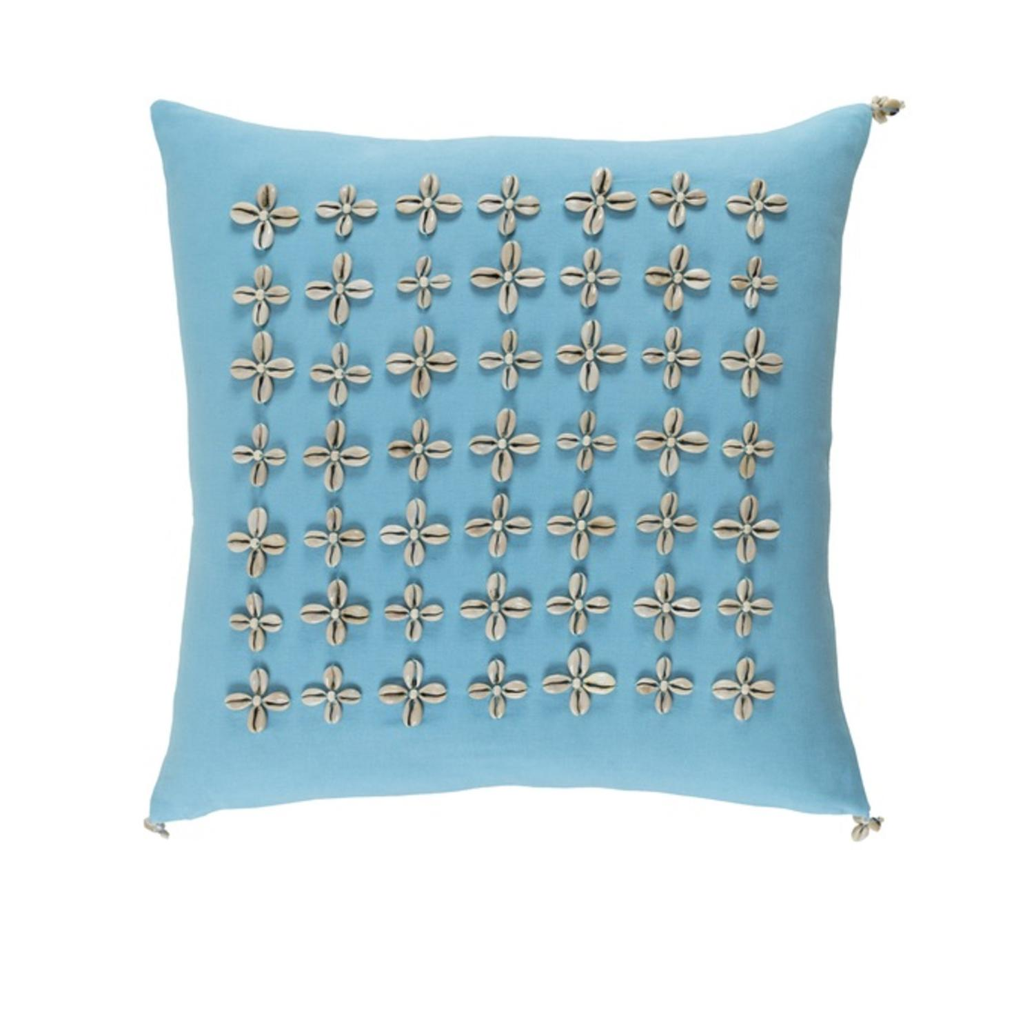 Powder Blue Decorative Pillows : 22
