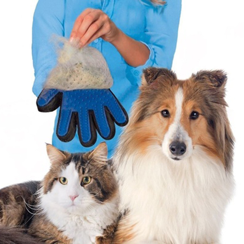 Magic Glove Pet Dog Cat Massage Hair Removal Groomer ea7c4f1113af