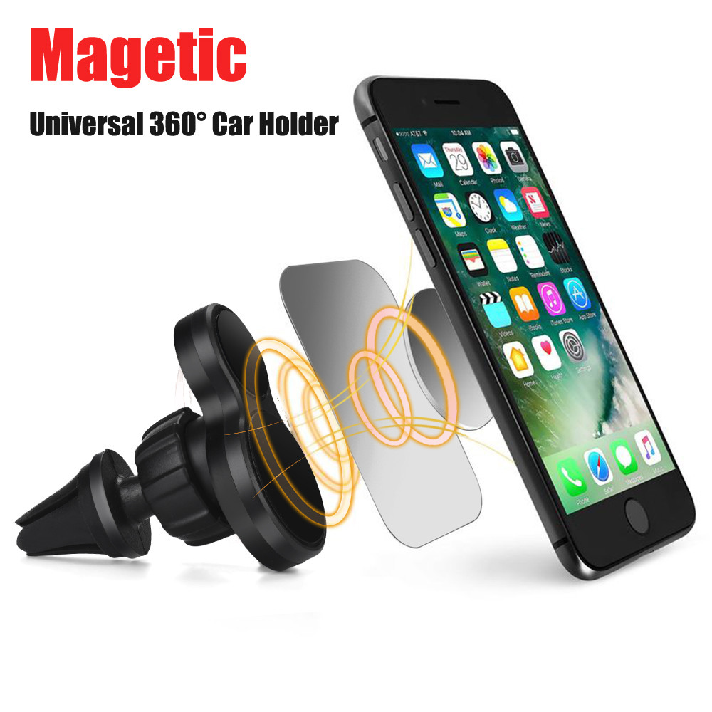 Universal Magnetic Car Air Vent Holder Mount Cradle Stand For Phone GP
