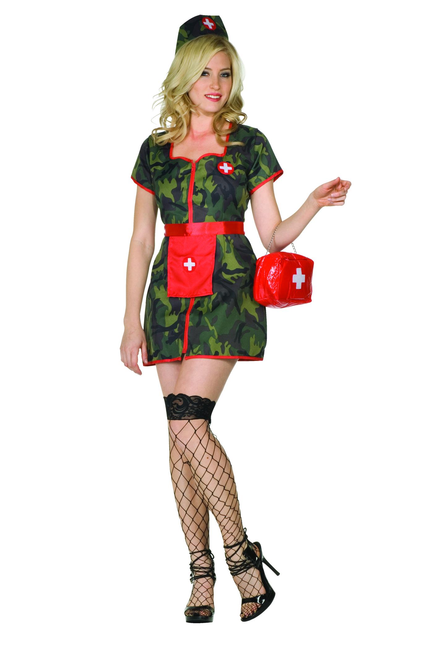 Army Flash Costume Tanga