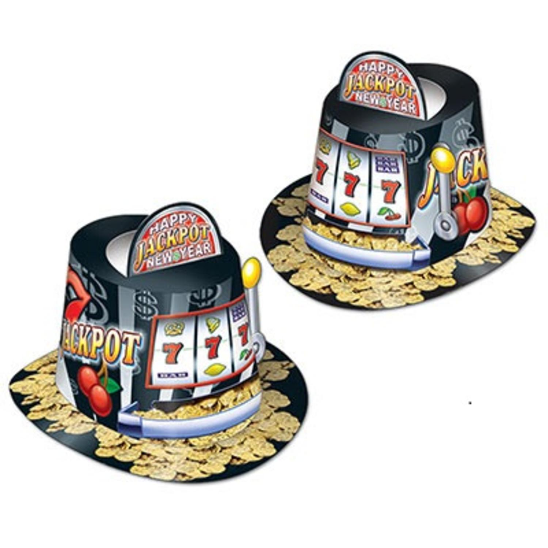 Top hat slot machine