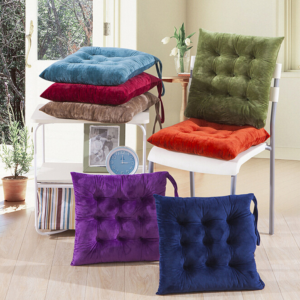 Indoor Dining Room Chair Cushions: Pads Seat Pads Cushion For Indoor Home Kitchen Office