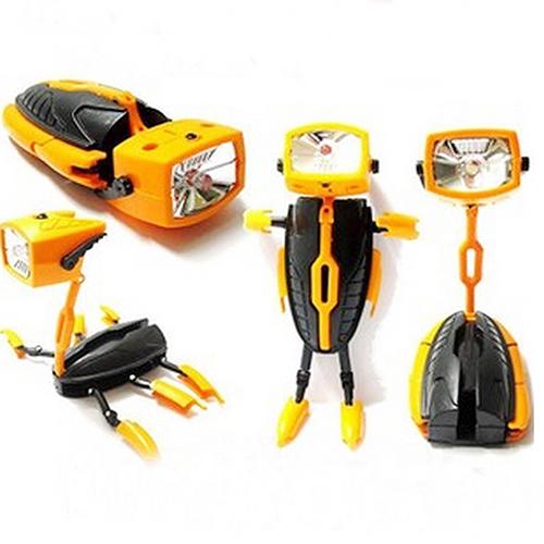 Mini LED Robot Transformer Flashlight 5914689
