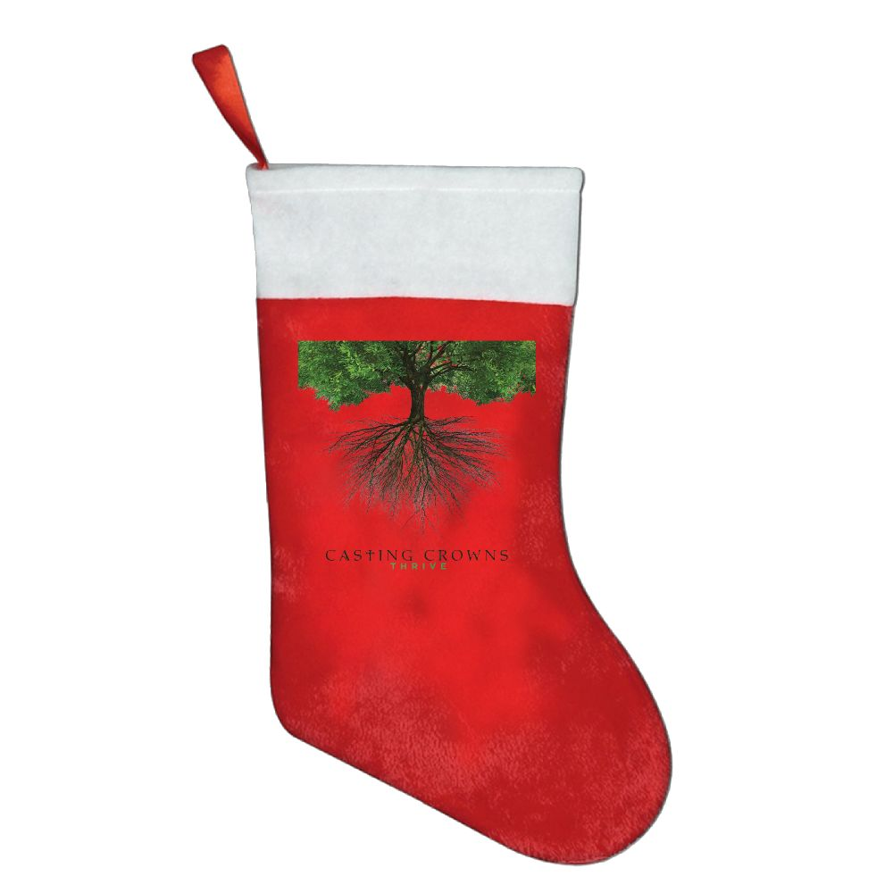 Casting crowns thrive poster christmas stocking sock gift