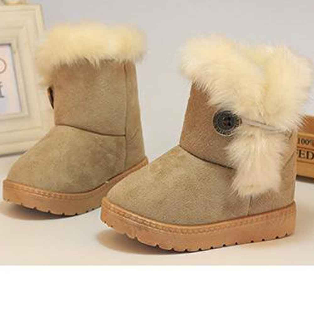 Fashionable Baby Girl s Winter Snow Boots