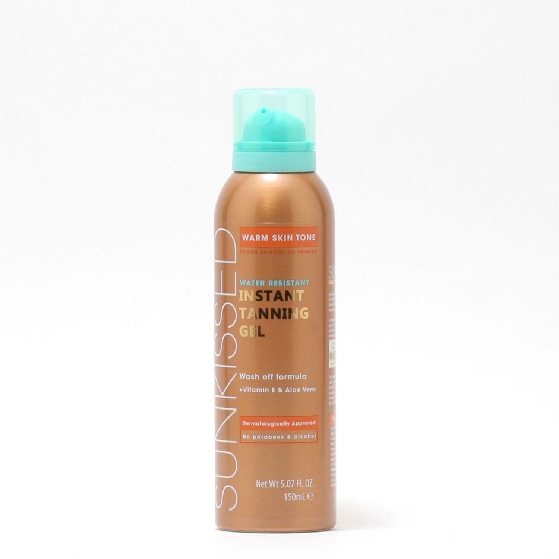 Sunkissed Instant Tanning Gel Warm Skin Tone