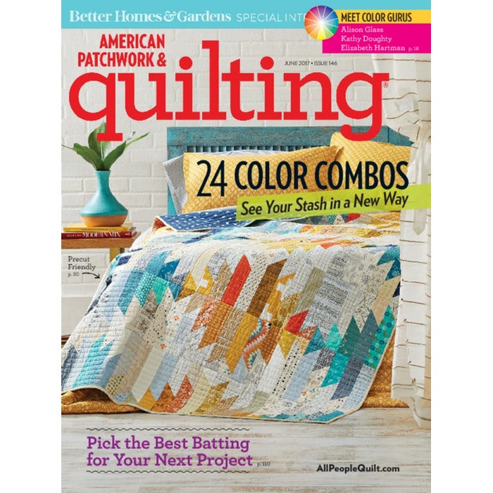 American Patchwork  amp  Quilting Magazine Subscription