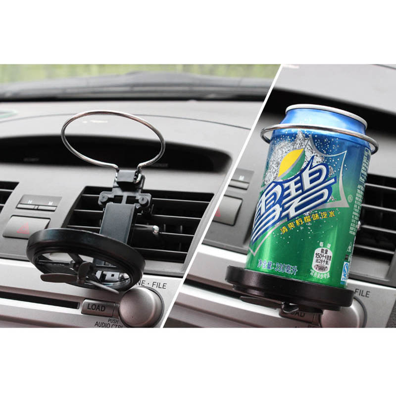 Car Outlet Cup Drink Holder Folding Shelf Utility Vehicle Supplies