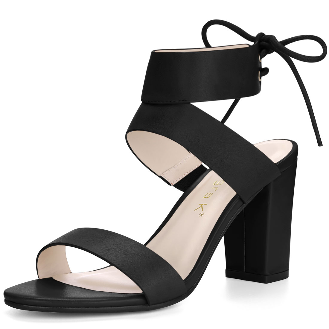 Casual Shoes With An Elevated Heel And Open Back