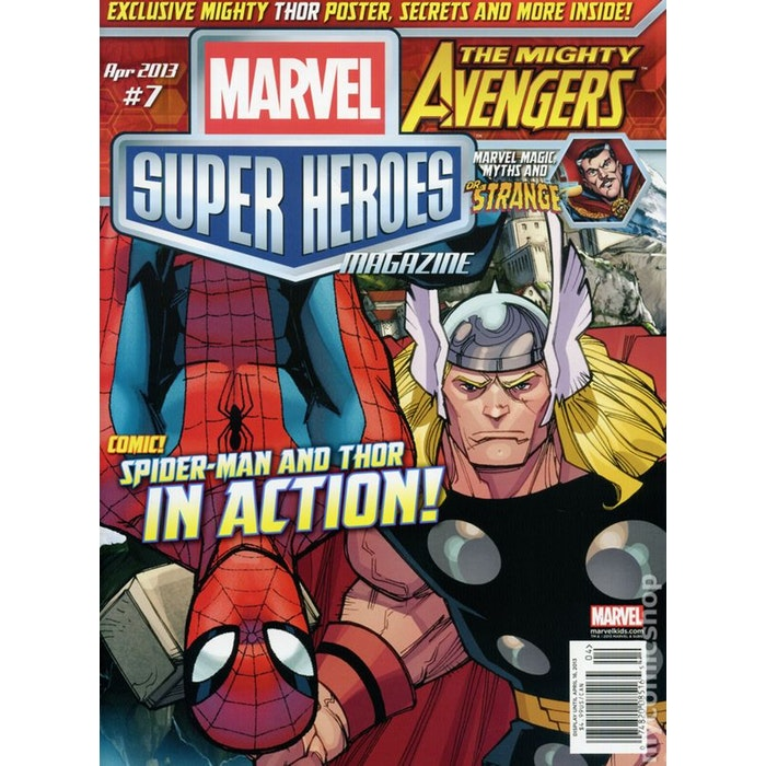 Marvel Super Heroes Magazine Subscription 5c8fef8cd008