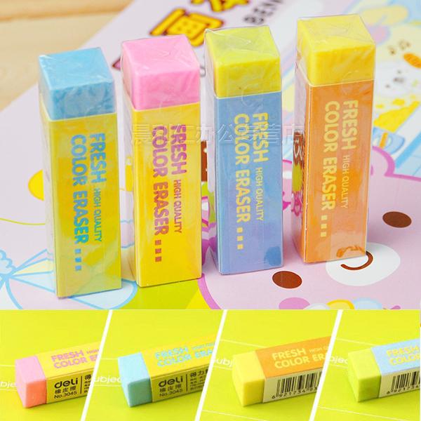Soft PVC 4B Color Eraser For School Office