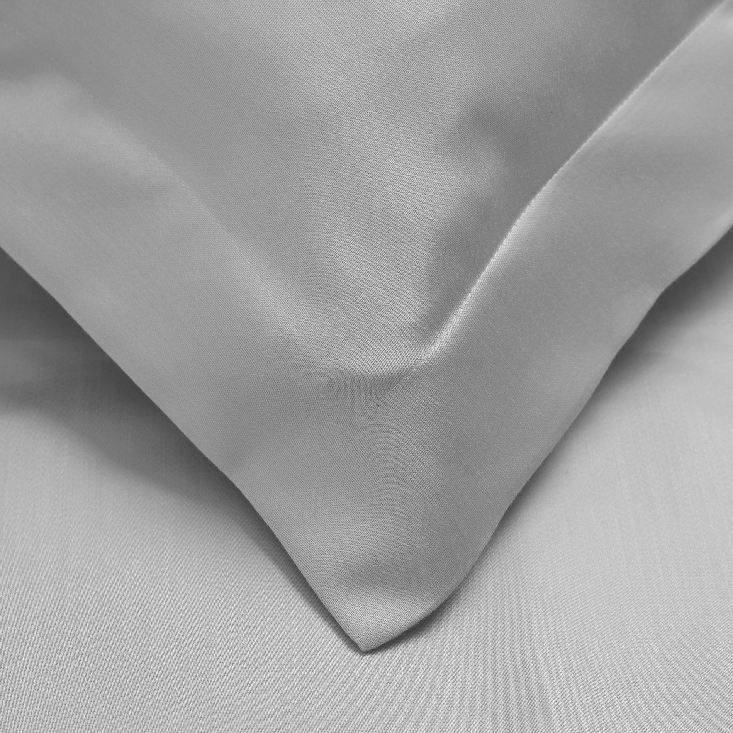 600 Thread Count Tencel Polyester Full Queen Duvet Cover