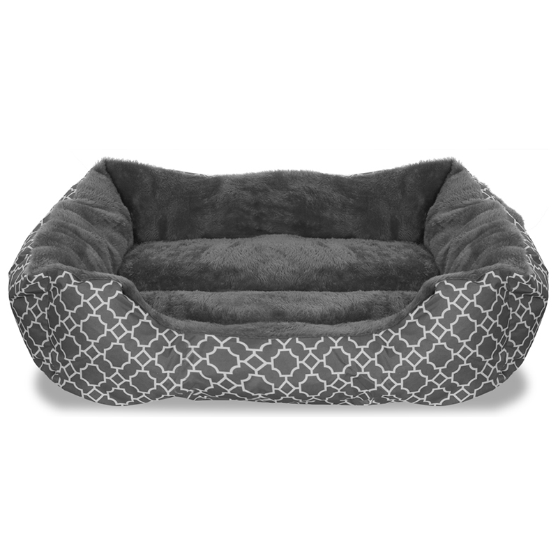Deluxe Ultra-Soft 22  x 18  Comfy Pooch Lattice Pet Bed