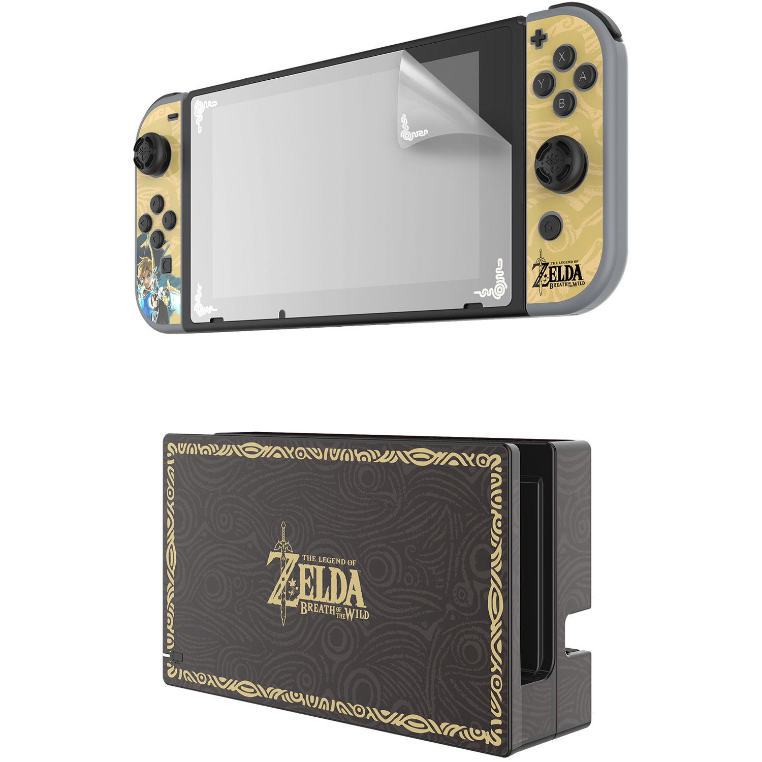 pdp 500 016 nintendo switch zelda collector 39 s edition screen protection s tanga. Black Bedroom Furniture Sets. Home Design Ideas