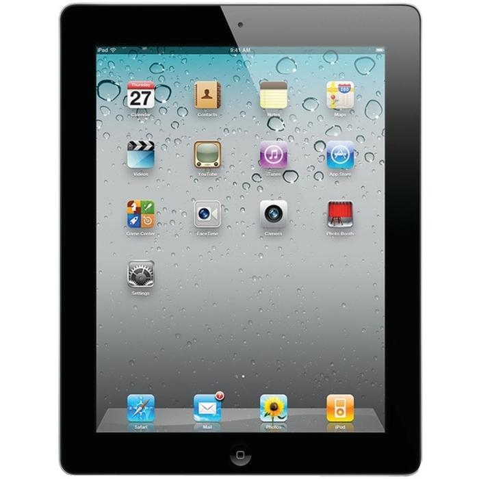 Apple iPad 2 MC769LL A 16GB WiFi Black (Grade B)