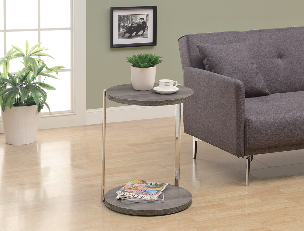 Monarch specialties 3252 accent table in dark taupe w p for Nfpa 99 table 5 1 11