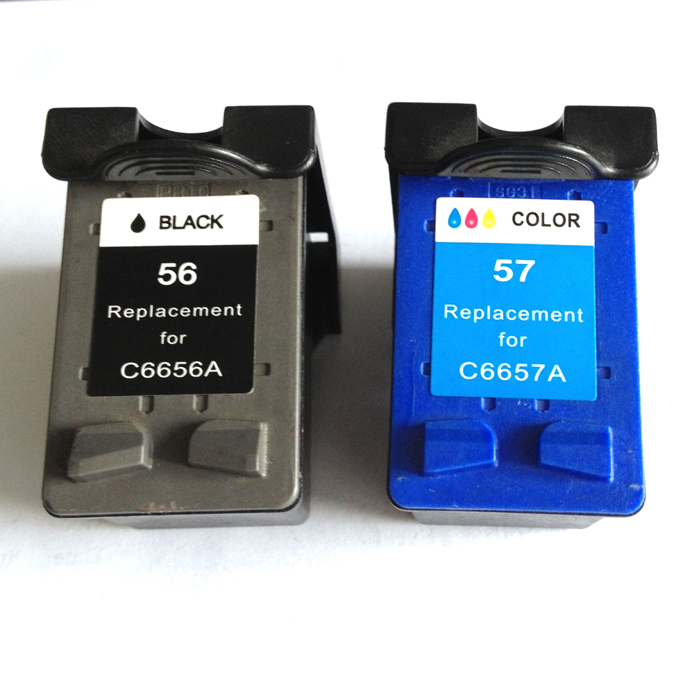 Ink Cartridge For HP 56 57Black Color Use In HP PSC 1318