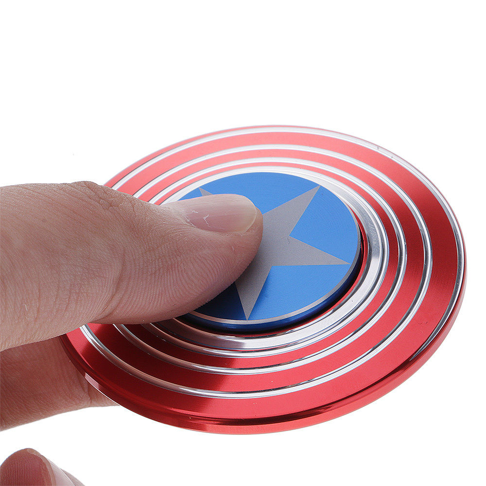 Captain America Shield FidgetSpinner Assorted Colors