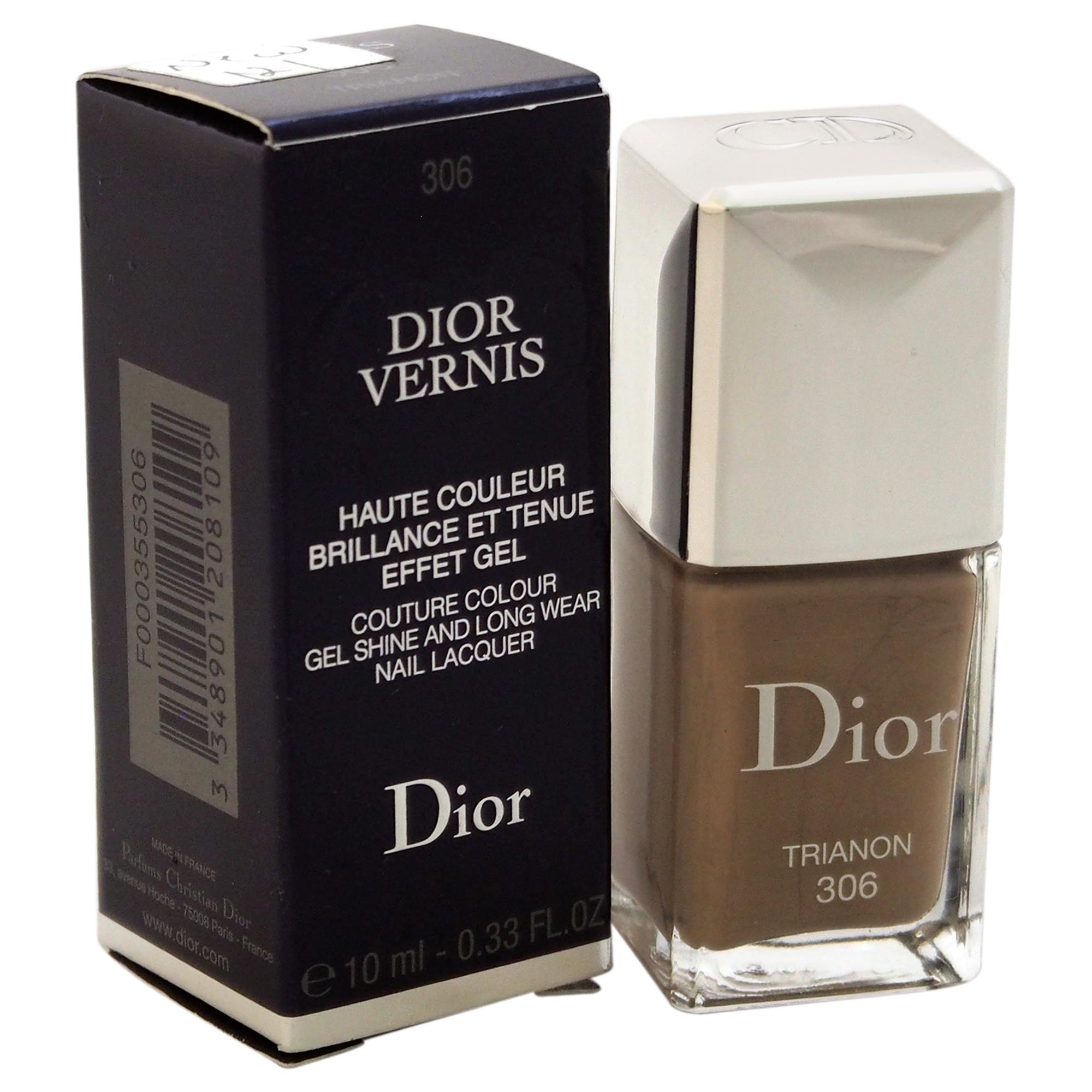 Dior Vernis Nail Lacquer #306 Trianon Christian .33oz Polish