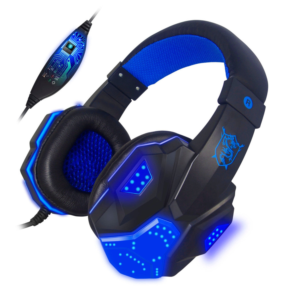 Surround Stereo Gaming Headset With Microphone 020cf99717dc