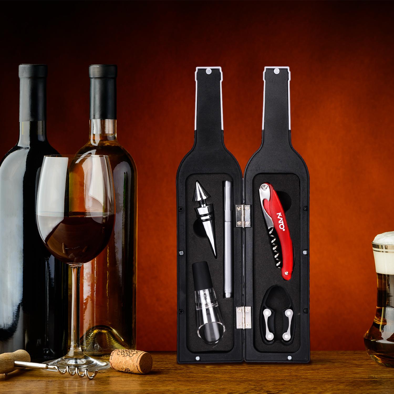 7 Piece Kato Wine Accessories Gift Set