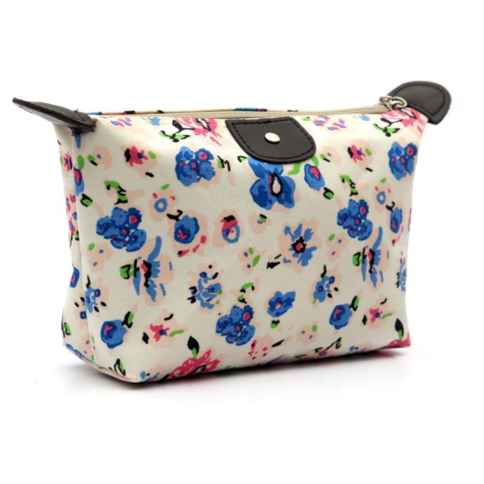 Women Travel Make Up Cosmetic Pouch Bag Clutch Handbag Casual Purse