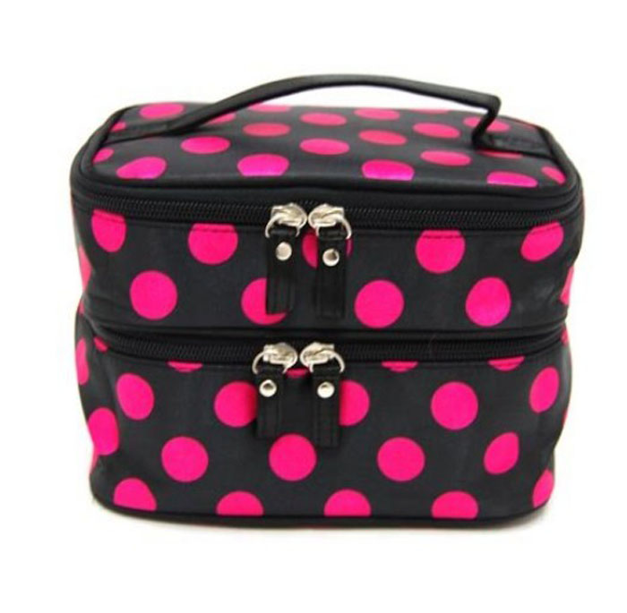 Dot Double Cosmetic Bag