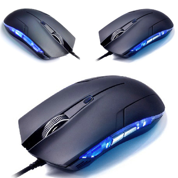 Cobra Optical 1600 DPI USB Wired Gaming Game Mouse For Games PC Laptop