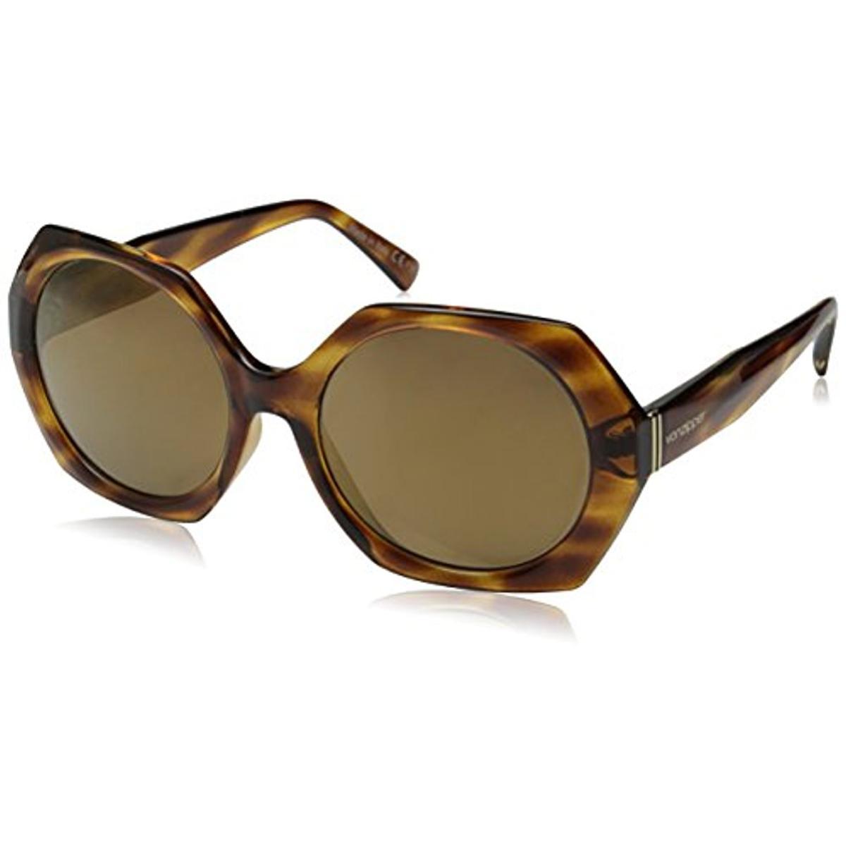 VonZipper Womens Buelah Tortoise Gradient Round Sunglasses 6370475