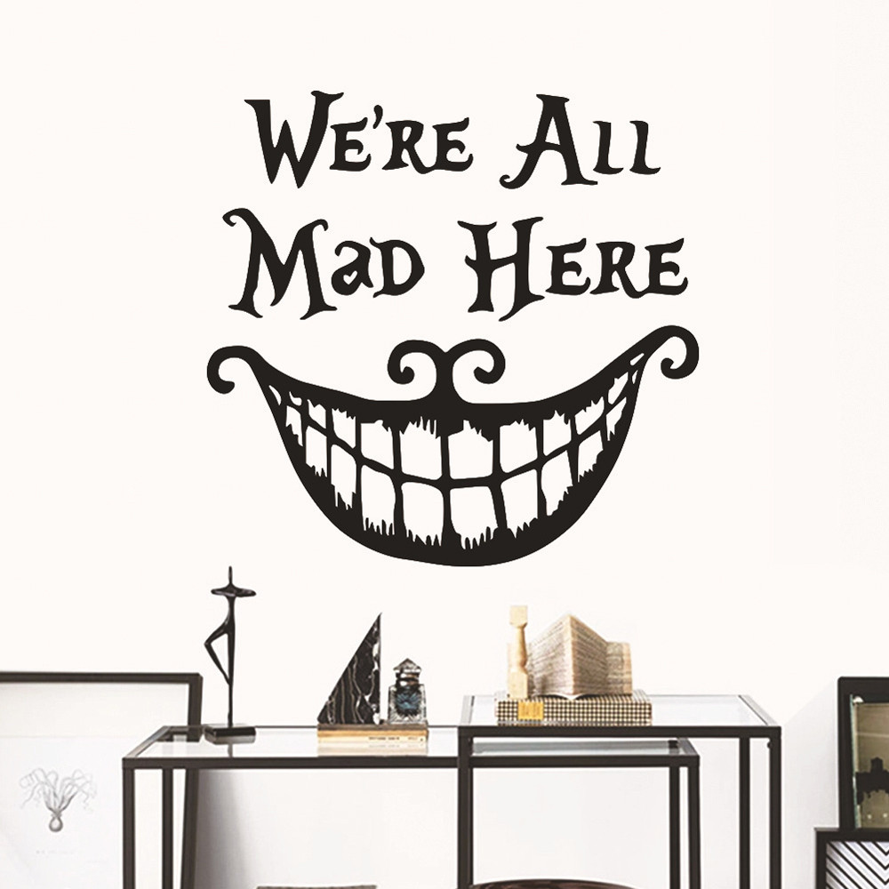 DIY Halloween Background Wall Decoration Removable Wall Stickers