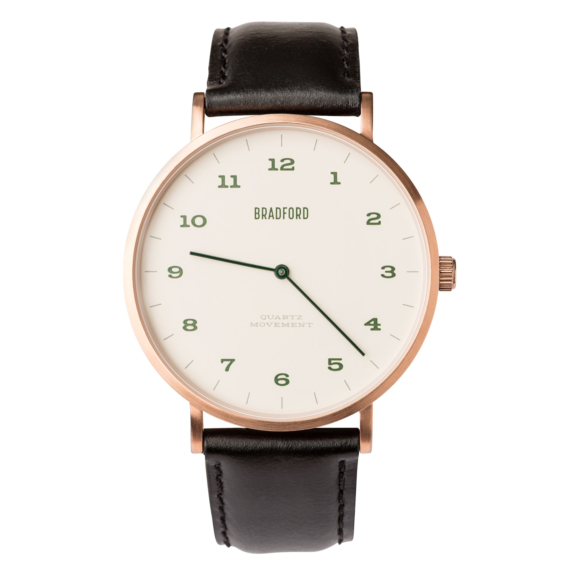 Bradford Watch Co. Claypool 44mm Watch on Strap - 4 Colors