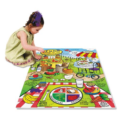 Wonderfoam land of nutrition floor puzzle 63 pieces tanga for 100 floor 63