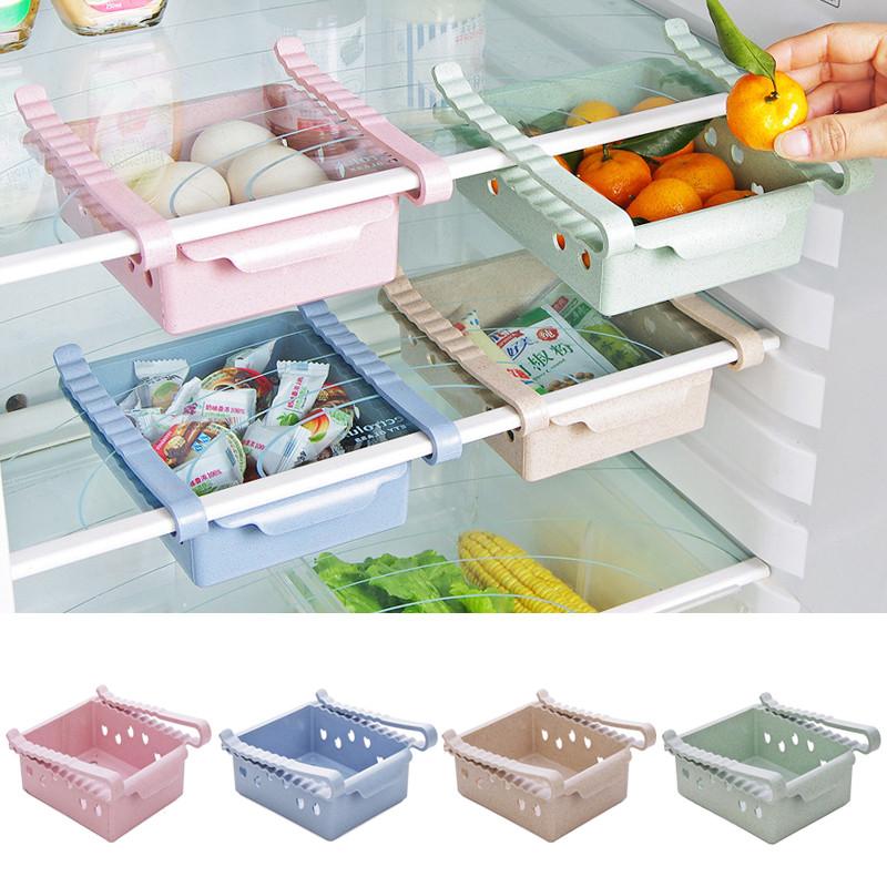 New Kitchen Article Storage Shelf Refrigerator Drawer Shelf Plate Laye