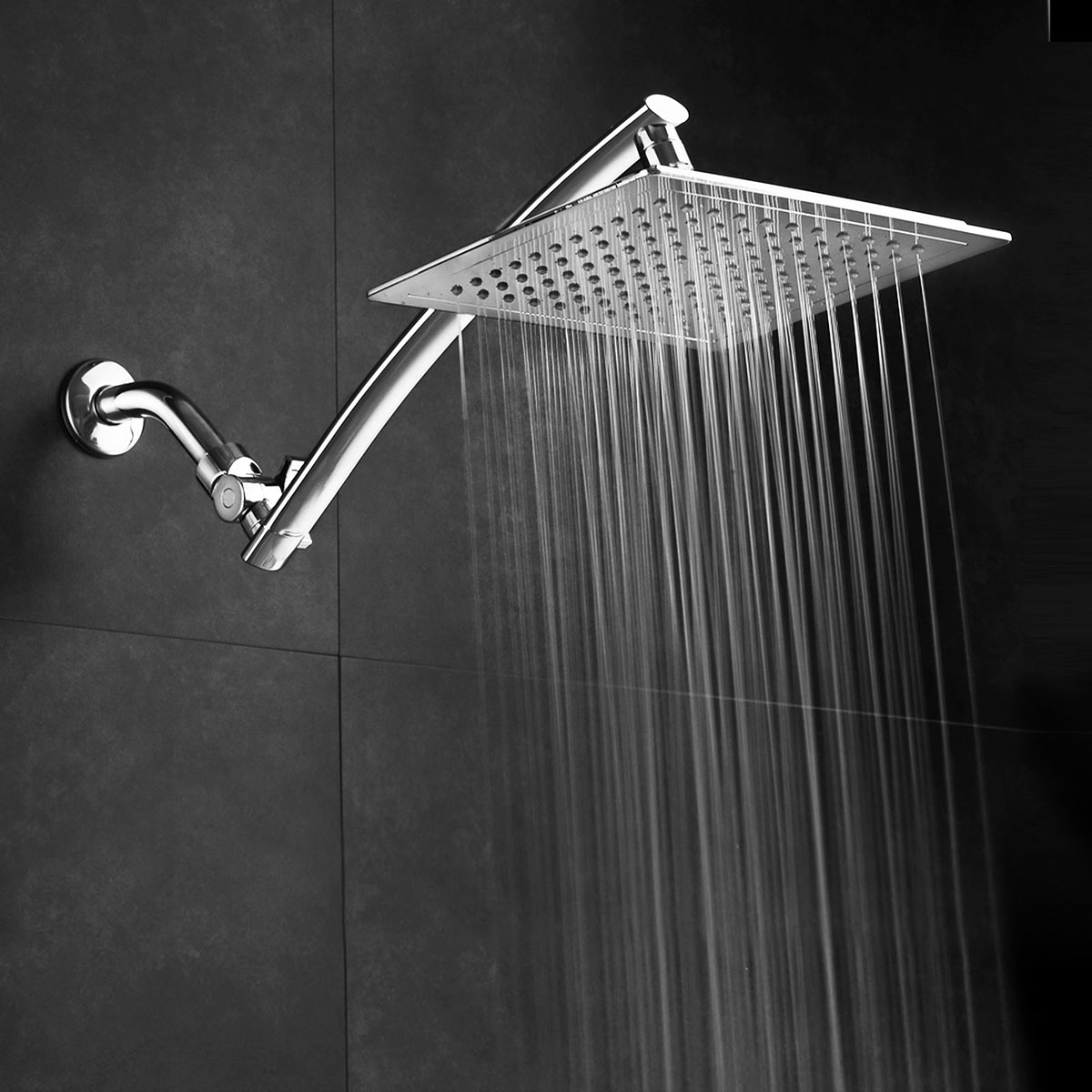 Stainless Steel Rainfall Shower Head 0d440fad45af