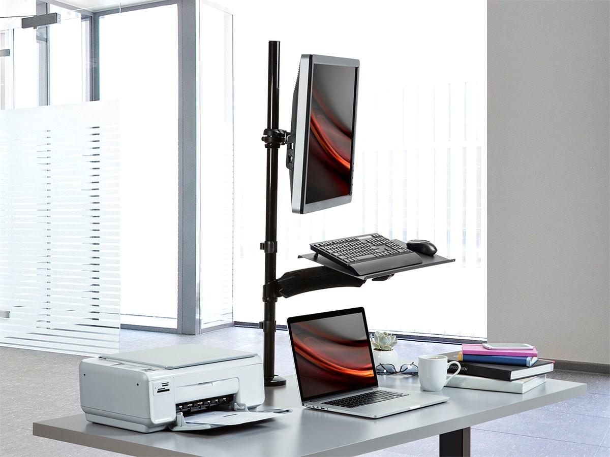 Monopricesit Stand Monitor And Keyboard Workstation Tanga