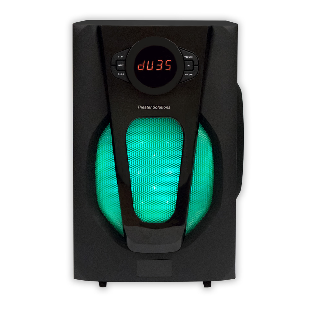 Theater Light Control System: Theater Solutions TS524 Deluxe 5.1 Speaker System With LED