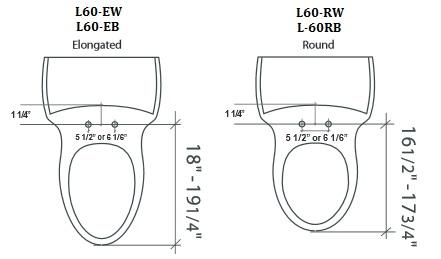 Lumawarm Heated Nightlight Toilet Seat Elongated Biscuit