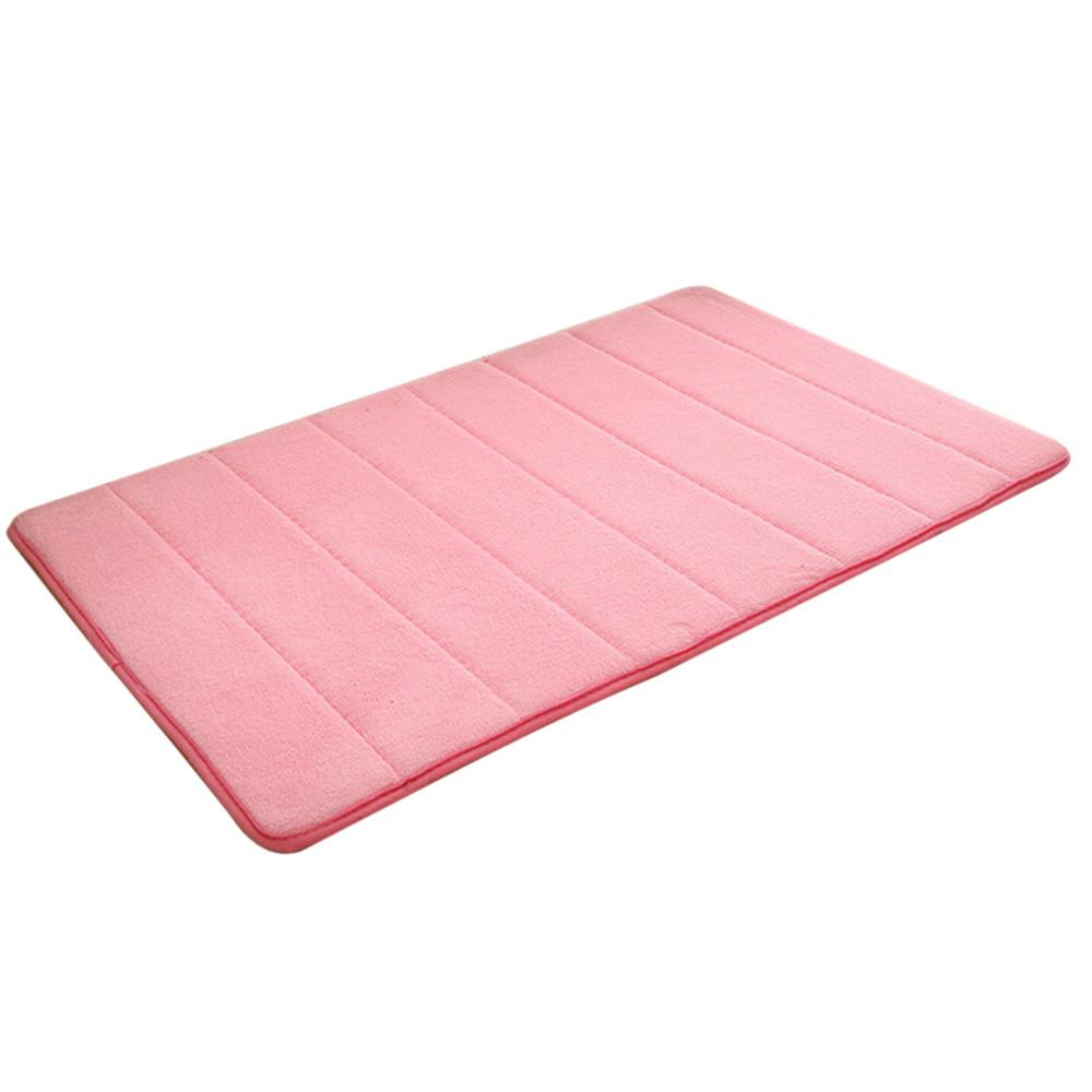 Memory Foam Mat Absorbent Slip Resistant Pad Bathroom