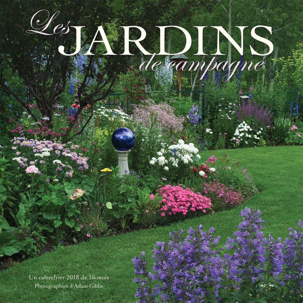 les jardins de campagne wall calendar tanga. Black Bedroom Furniture Sets. Home Design Ideas