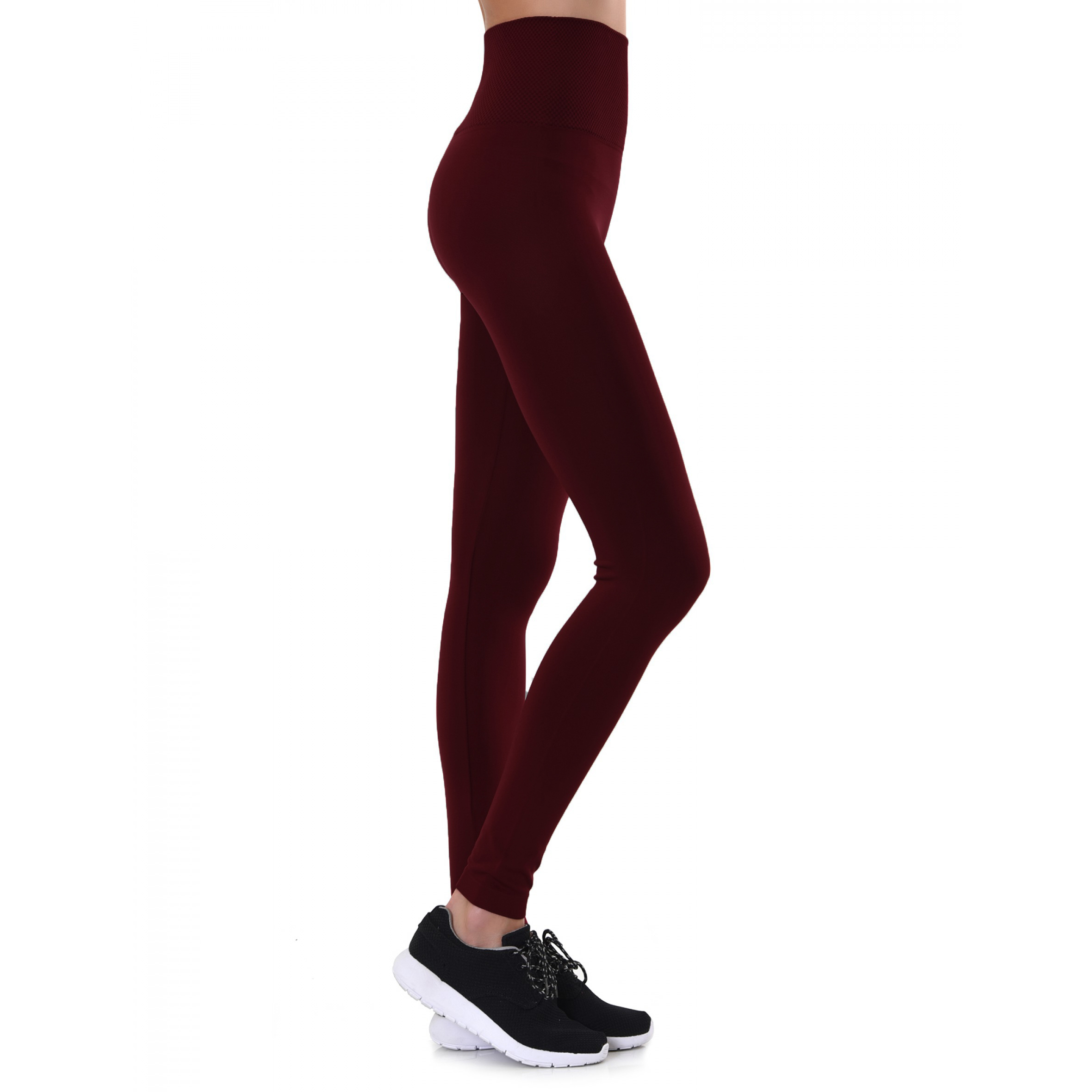 Women s Warm Winter Fleece Lined Leggings - Plus Sizes Available
