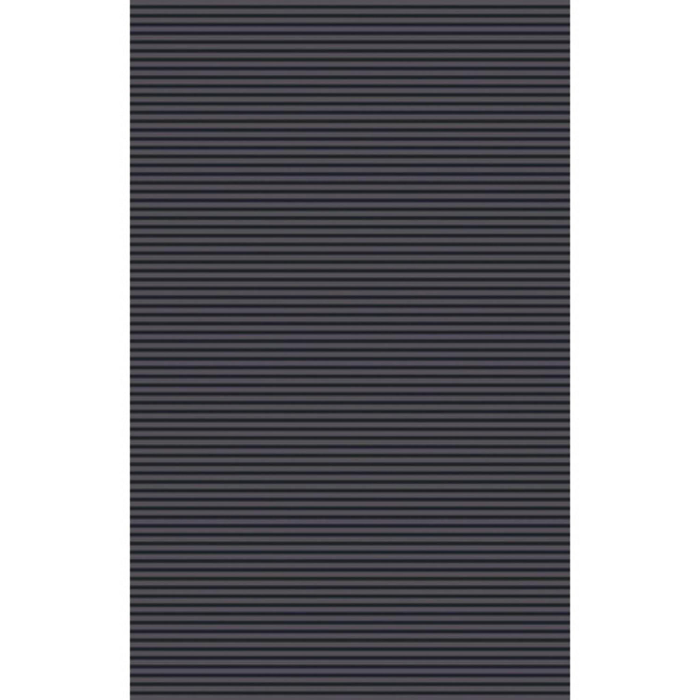 2 X 3 Elemental Stripes Slate Gray And Mocha Brown Area
