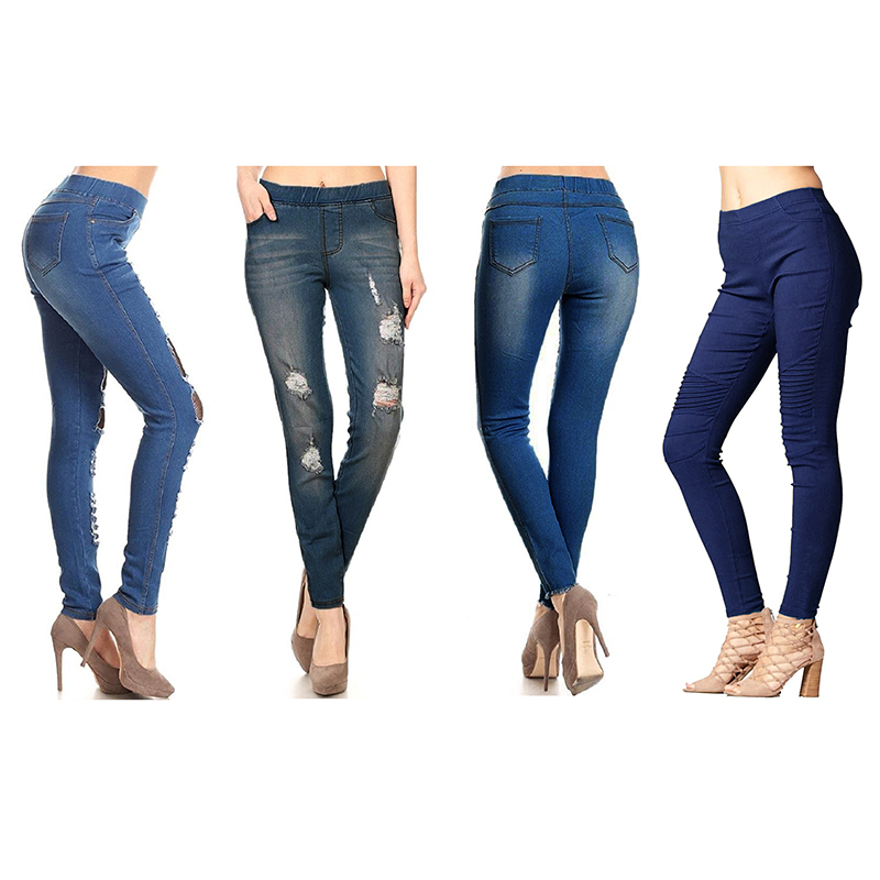 4-Pack Women s Fashion Leggings - 6 Style Options