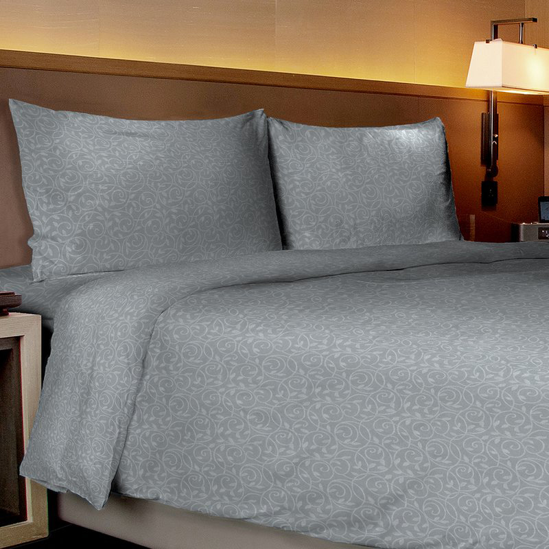 Vine-Embossed Sheet  amp  Pillowcase Set (4-Piece or 6-Piece)