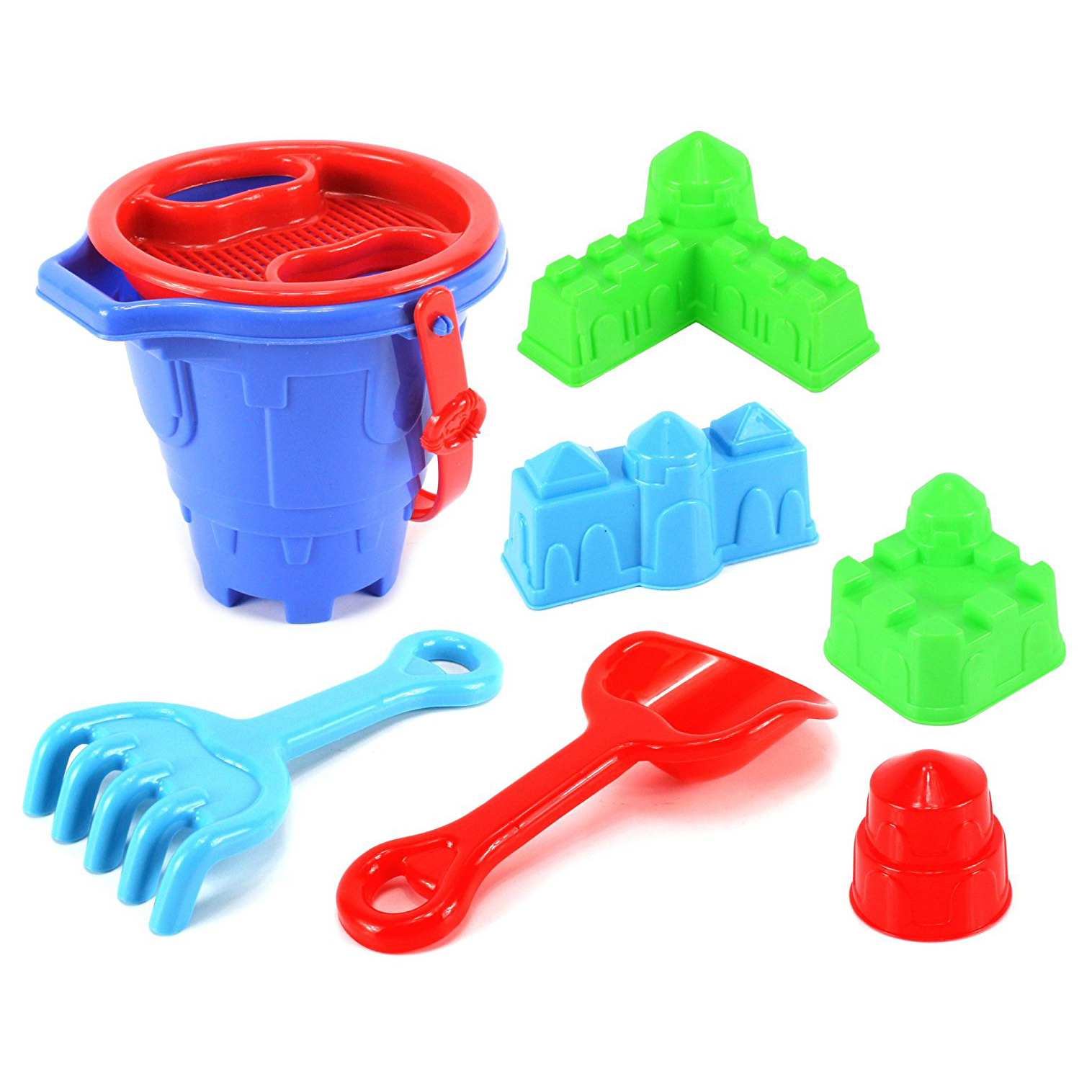 Happy Times Castle Bucket Children s Kid s Toy Beach Sandbox Playset