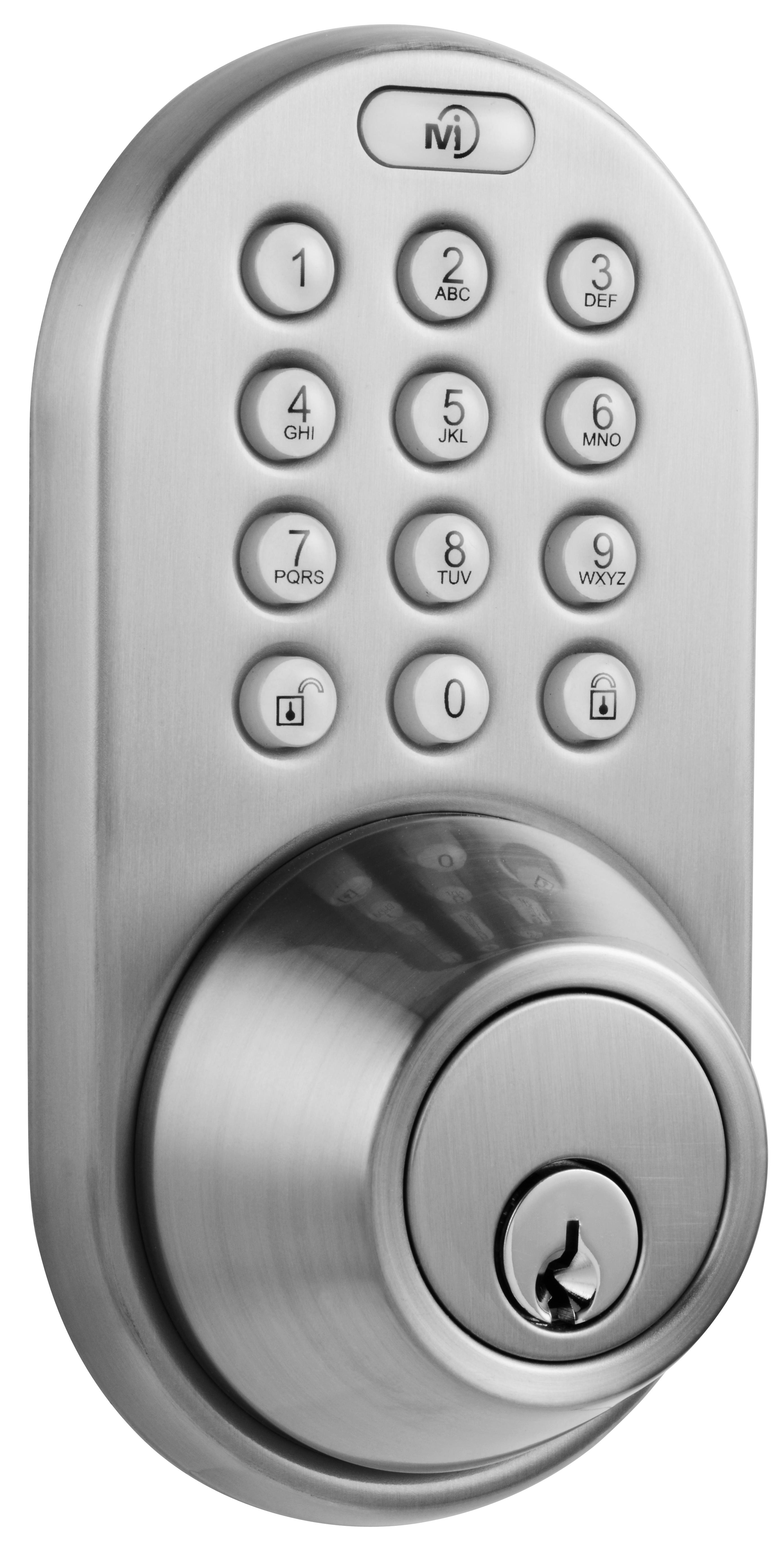 Milocks Keyless Entry Deadbolt Door Lock Bellechic